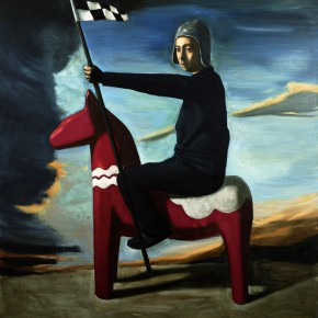 "Pan Guanqun, ""Flag of Clown"", 2008"
