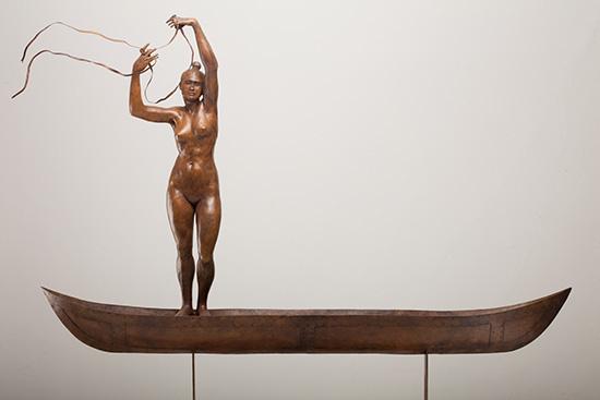 Sculpture by Jorge Marin