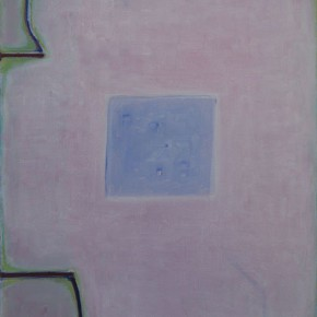 Tang Yongxiang Blue Square on Pink 2013 Oil on canvas 60x50cm 290x290 - Solo Show of Tang Yongxiang Showcasing His Recent Works at Magician Space