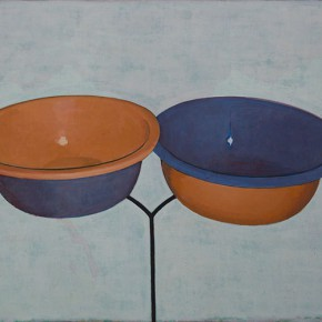 Tang Yongxiang Like Two Bowls 2013 Oil on canvas 80x100cm 290x290 - Solo Show of Tang Yongxiang Showcasing His Recent Works at Magician Space