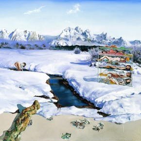 """Tu Hongtao """"Pure Scenery"""" 2006 290x290 - Criss-Cross: Artworks of Young Chinese Contemporary Artists from the Long Collection"""