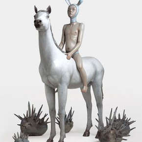 """Yan Shilin """"The Dream of Don Quixote"""" 2012 290x290 - Criss-Cross: Artworks of Young Chinese Contemporary Artists from the Long Collection"""