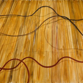 Zhang Enli, The Wires and Pipes, 2013; Oil on canvas, 250x380cm