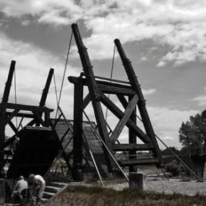 Zhang Jun, Arles Drawbridge48×85cm,2013.6.29 14:20