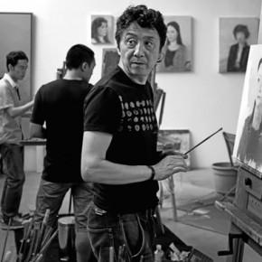 Zhang Jun, Blueroof Art Gallery in Chengdu, 51×76cm,2012.5.20 14:56