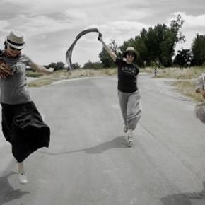 Zhang Jun, On the Way to Arles Drawbridge; 48×85cm,2013.6.29 14:07