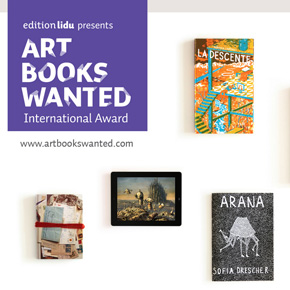 The 3rd edition of ART BOOKS WANTED International Award 2014 organized by EDITION LIDU call for entries