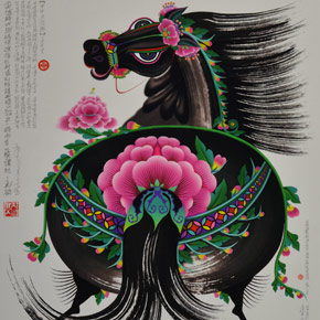 A Song of Painting – Exhibition of the Horse Painting Collection in CAFA Art Museum