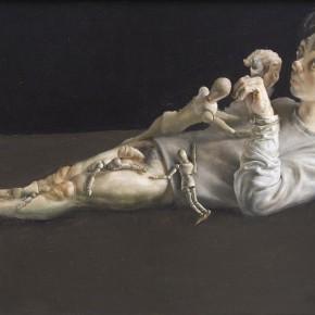 """006 Wang Huaxiang, """"It Isn't a Fiction"""", 50 x 70 cm, 2012"""