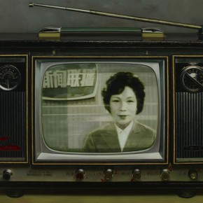 03 Chen Xi Chinese Memories Series Premiere of CCTV News 2008 oil on canvas 130x180cm 290x290 - Chen Xi