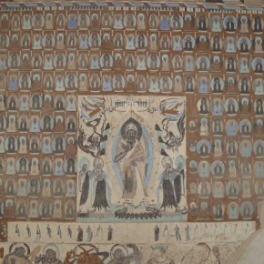"03 Preaching Figure and Thousand Buddha north wall of Cave 249 in Mogao Grottoes 290x290 - Zhejiang Art Museum Launches ""Bright World – Dunhuang Art Exhibition"""