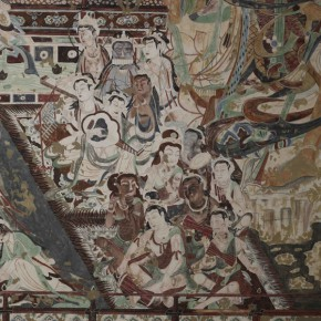 "07 Band north wall of cave 220 290x290 - Zhejiang Art Museum Launches ""Bright World – Dunhuang Art Exhibition"""
