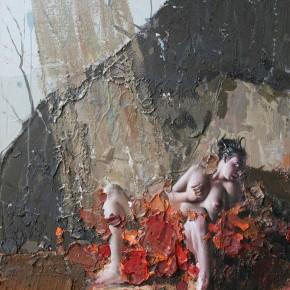 """076 Wang Huaxiang """"The Wind Blowing Back No.20"""" 90 x 110 cm 2011 290x290 - Wang Huaxiang"""