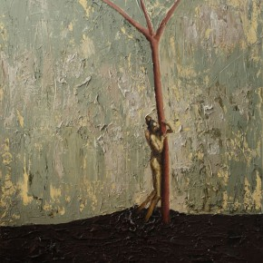 """086 Wang Huaxiang """"The Wind Blowing Back No.09"""" 100 x 80 cm 2009 290x290 - Wang Huaxiang"""
