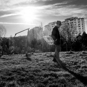 09 Sebastian VacariucRomania Babes Bolyai University Old Man on a Field Where the City Ends 290x290 - 2014 Sony World Photography Awards Student Focus finalists revealed
