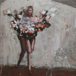 """093 Wang Huaxiang """"The Wind Blowing Back No.02"""" 200 x 300 cm 2008 290x290 - Wang Huaxiang"""
