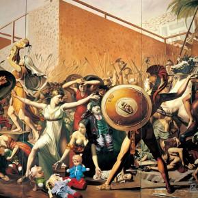 """097 Wang Huaxiang """"The War after Duchamp"""" oil on canvas 386 x 647 cm 2006 290x290 - Wang Huaxiang"""