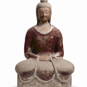 "13 Status of a Sitting Buddha of the Cave 259 290x290 - Zhejiang Art Museum Launches ""Bright World – Dunhuang Art Exhibition"""
