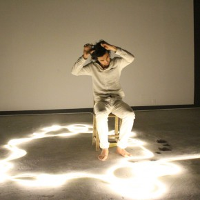 """15 Yang Song """"To Heal"""" performance 2014 290x290 - To Heal – Anna & Yang Song's Dual Solo Exhibitions Opened at Gallery Yang"""