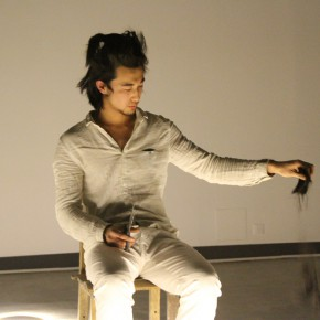 """16 Yang Song """"To Heal"""" performance 2014 290x290 - To Heal – Anna & Yang Song's Dual Solo Exhibitions Opened at Gallery Yang"""
