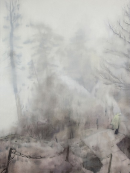 Ye Jianqing, Observe the Energy 12, 2008; Oil on canvas, 200x150cm