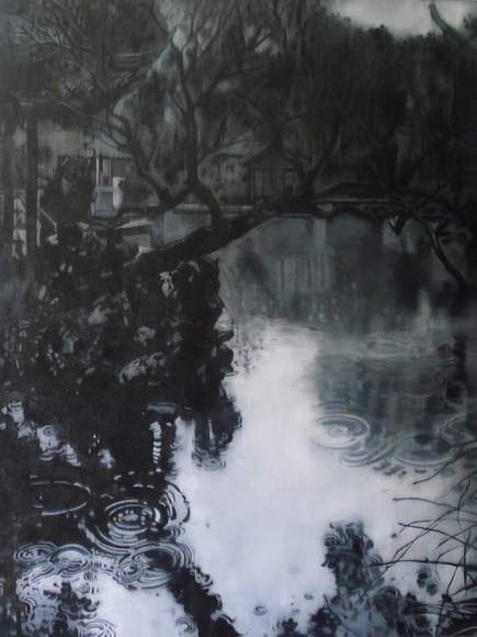 Ye Jianqing, Observe the Shadow 22, 2008; Oil on canvas, 200x150cm