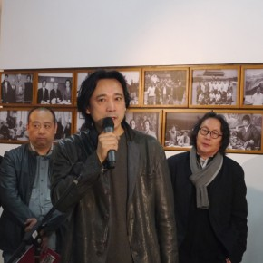 "01 Ma Gang President of the High School Affiliated with CAFA addressed at the opening ceremony of ""Teaching and Learning Improving Each Other Exhibition for Xu Renlong's Teaching and Creation 290x290 - Holding an Exhibition for the Students and Teaching Staff – Exhibition by Xu Renlong opened in CAFA"
