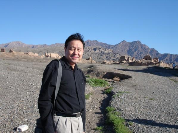 01 Shen Xinggong went to Xinjiang to sketch