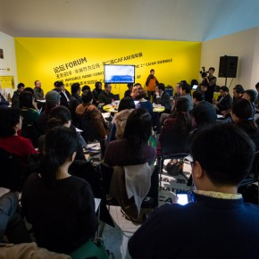 "01 View of curators roundtable discussion  290x290 - Scholars Gathered in CAFA Art Museum to Discuss the ""Curatorial Mechanism and Art Museum"""