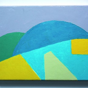 02 Etel Adnan Sans Titre 2013 oil on canvas 24x30cm 290x290 - Etel Adnan's First Solo Show in China Opening March 15 at Galleria Continua Beijing