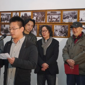"02 Huang Keyi addressed at the opening ceremony of ""Teaching and Learning Improving Each Other Exhibition for Xu Renlong's Teaching and Creation"" 290x290 - Holding an Exhibition for the Students and Teaching Staff – Exhibition by Xu Renlong opened in CAFA"