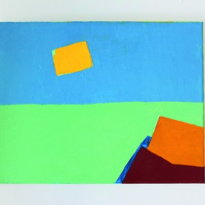 03 Etel Adnan Sans Titre 2013 oil on canvas 32x41cm 290x290 - Etel Adnan's First Solo Show in China Opening March 15 at Galleria Continua Beijing