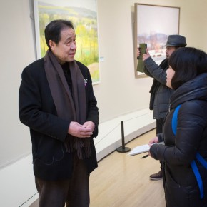03 Shen Xinggong was interviewed by CAFA ART INFO 290x290 - Emotion and Personality: Shen Xinggong Talked About the Creation and Teaching of Oil Painting