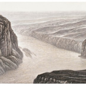 """03 Xu Renlong """"Caring the Great River in the Dream"""" 125 x 247 cm 2011 290x290 - """"Teaching and Learning Improving Each Other: Exhibition for Xu Renlong's Teaching and Creation"""" Opened in CAFA"""