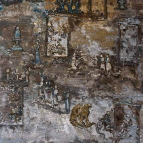 """03 Zhang Xiaotao """"Untitled"""" oil on linen 250 x 150 cm 2012 290x290 - Empty Shadow – Zhang Xiaotao's Works 2009-2014 about to be Presented in Suzhou"""