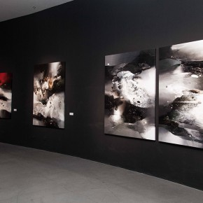 "05 Installation view of Contemporary Abstract Art Exhibition by Us Based Painter Pan Qiqun 290x290 - ""Contemporary Abstract Art Exhibition by US Based Painter Pan Qiqun"" Presented in Nanjing"