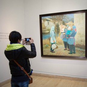 """05 View of the opening of """"Andante Cantabile – Shen Xinggong Oil Painting Exhibition"""" 290x290 - Emotion and Personality: Shen Xinggong Talked About the Creation and Teaching of Oil Painting"""