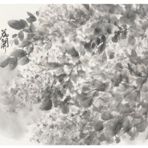 """06 Xu Renlong """"Blossoming Flowers like Fog"""" 35 x 46 cm 2008 290x290 - """"Teaching and Learning Improving Each Other: Exhibition for Xu Renlong's Teaching and Creation"""" Opened in CAFA"""