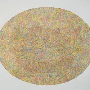 """08 Lai Jinna """"A Full Void No.1"""" color pencil on paper 76.5 x 112 cm 2013 290x290 - Solo Show by Lai Jinna """"A Full Void"""" Opening in Beijing"""