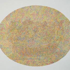 "08 Lai Jinna, ""A Full Void No.1"", color pencil on paper, 76.5 x 112 cm, 2013"