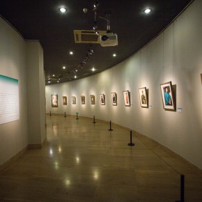 """08 View of the opening of """"Andante Cantabile – Shen Xinggong Oil Painting Exhibition"""" 290x290 - Emotion and Personality: Shen Xinggong Talked About the Creation and Teaching of Oil Painting"""