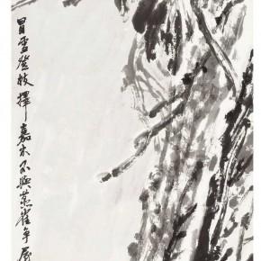 "08 Xu Renlong ""Crossoptilon Mantchuricum"" 159 x 52 cm 2010 290x290 - ""Teaching and Learning Improving Each Other: Exhibition for Xu Renlong's Teaching and Creation"" Opened in CAFA"