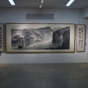 "10 Installation view of ""Teaching and Learning Improving Each Other Exhibition for Xu Renlong's Teaching and Creation"" 290x290 - Holding an Exhibition for the Students and Teaching Staff – Exhibition by Xu Renlong opened in CAFA"