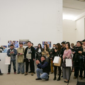 10 View of the opening ceremony 290x290 - Worldly Fate – He Yunchang's Solo Exhibition Unveiled at the White Box Museum of Art