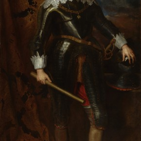 "12 Anthony van Dyck 1599 Antwerp – 1641 London ""Portrait of Count Nassau Seigen John VIII"" oil on canvas 203.5 x 122 cm painting 230 x 150 x 9 cm frame 290x290 - Rubens, Van Dyck and the Flemish School of Painting: Masterpieces from the Collections of the Prince of Liechtenstein Debuts in China"