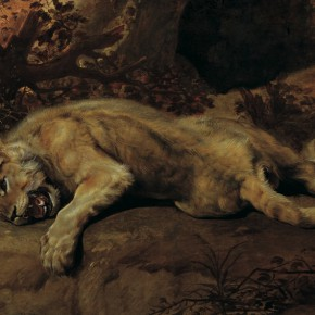 "13 Frans Snyders 1579 Antwerp – 1657 Antwerp ""Lioness"" oil on canvas 113 x 200.3 cm painting 161.9 x 249.4 cm frame 1620 1630 290x290 - Rubens, Van Dyck and the Flemish School of Painting: Masterpieces from the Collections of the Prince of Liechtenstein Debuts in China"