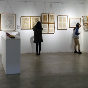 """15 Installation view of """"Teaching and Learning Improving Each Other Exhibition for Xu Renlong's Teaching and Creation"""" 290x290 - Holding an Exhibition for the Students and Teaching Staff – Exhibition by Xu Renlong opened in CAFA"""