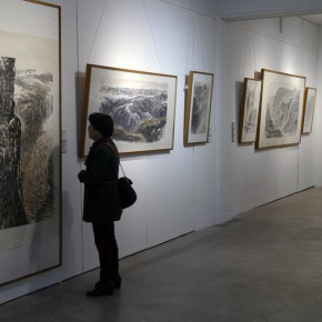 """16 Installation view of """"Teaching and Learning Improving Each Other Exhibition for Xu Renlong's Teaching and Creation"""" 290x290 - Holding an Exhibition for the Students and Teaching Staff – Exhibition by Xu Renlong opened in CAFA"""