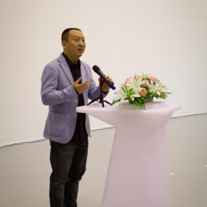 "16 View of opening ceremony of ""Empty Shadow"" the Solo Exhibition by Zhang Xiaotao 290x290 - Empty Shadow – the Recent Largest Solo Show by Zhang Xiaotao Inaugurated in Suzhou"