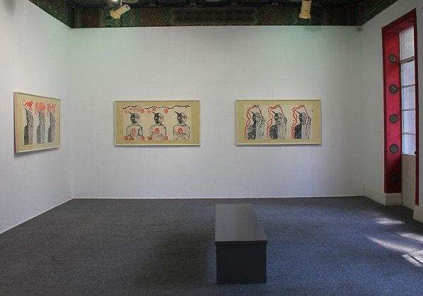 Francesco Clemente, Installation View of The Chinese Shadows 02, 2014